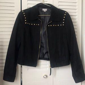 Suede black jacket